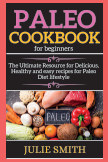 Paleo Cookbook for beginners book cover