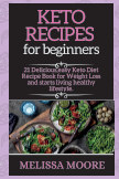 Keto recipes for beginners book cover