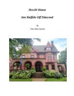 Hewitt House / Inn Buffalo Off Elmwood book cover