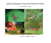 Jago's Grasshoppers of East and North East Africa, vol 5, Acrididae: Acridinae. book cover