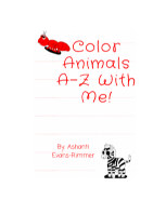 Color Animals A-Z With Me! book cover