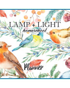 Lamp + Light Year 4 Planner book cover