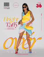 AUGUST 2021 Issue (Vol – 36) | OVER Magazines book cover
