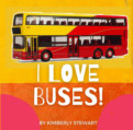 I Love Buses book cover
