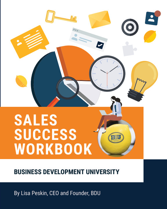 View BDU Sales Success Workbook by Lisa Peskin