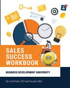 BDU Sales Success Workbook book cover