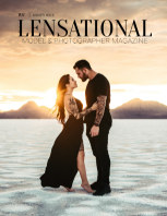 LENSATIONAL Model and Photographer Magazine #107 Issue | Golden Hour - August 2021 book cover