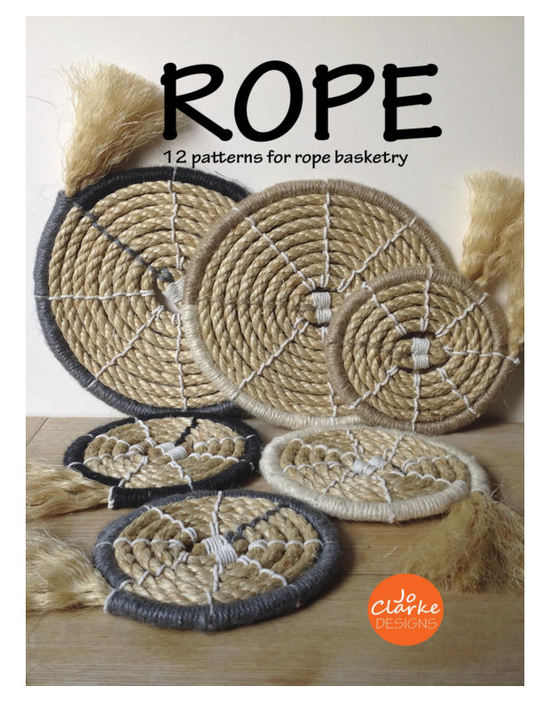 View Rope 12 patterns for rope basketry by Jo Clarke