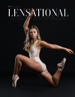 LENSATIONAL Model and Photographer Magazine #108 Issue | Ballet - August 2021 book cover