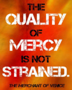 The Quality of Mercy is Not Strained book cover