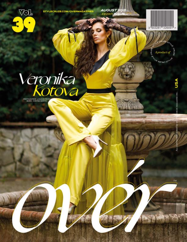 Bekijk AUGUST 2021 Issue (Vol – 39) | OVER Magazines op Divyesh Pillarisetty