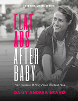 Flat Abs After Baby: book cover