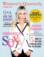 Women's Quarterly Spring 2021 book cover