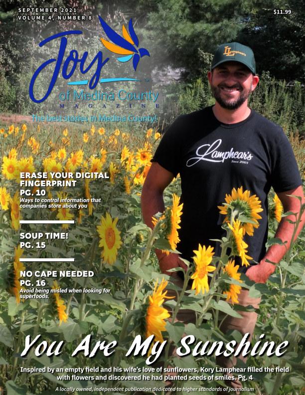 View Joy of Medina County Magazine September 2021 by Blake House Publishing, LLC