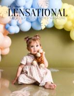 LENSATIONAL Model and Photographer Magazine #110 Issue | Toddler - September 2021 book cover