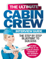 The Ultimate Cabin Crew Interview Guide book cover
