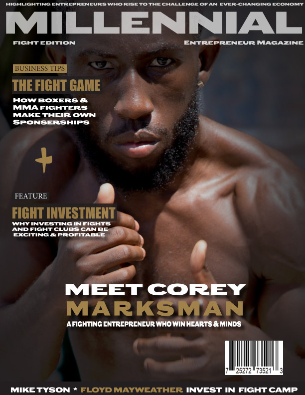 View Millennial Entrepreneur Fight Edition by Armand Lucas, Corey Marksman