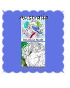 Australia Coloring Book book cover