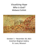 Visualizing Hope: Who is God? 2021 Midwest Exhibit book cover
