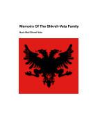 Memoirs Of The Shkreli-Vata Family book cover