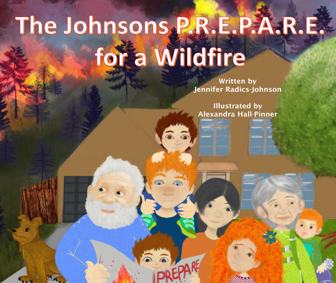 The Johnsons PREPARE for a Wildfire book cover