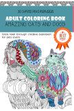 Creative Pets Mandalas Coloring Book book cover