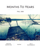 Months To Years Fall 2021 book cover