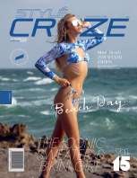 OCTOBER 2021 Issue (Vol: 15) | STYLÉCRUZE - Swim Wear book cover