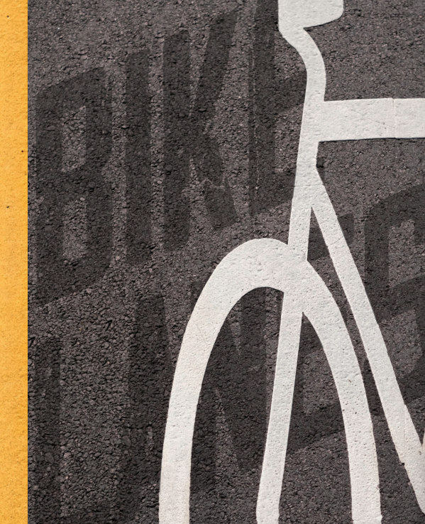 View Bike Lanes - Hard Cover Standard Edition by Roy Symons