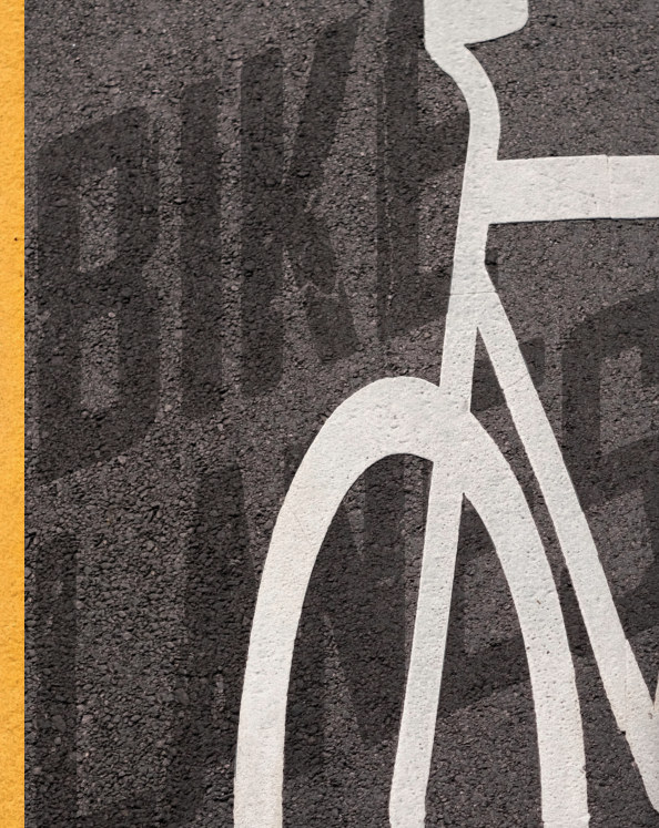 View Bike Lanes - Hard Cover High Quality Edition by Roy Symons