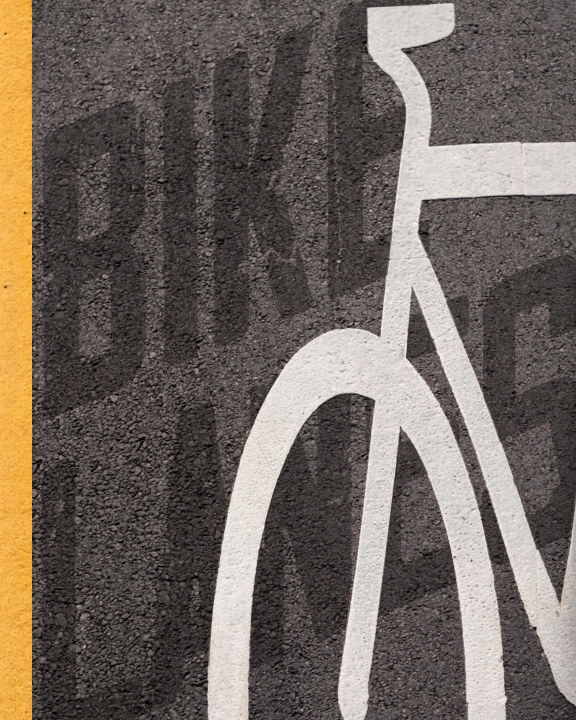 View Bike Lanes - Soft Cover High Quality Edition by Roy Symons