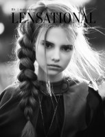 LENSATIONAL Model and Photographer Magazine #115 Issue | Black and White - October 2021 book cover