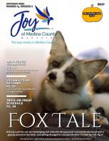 Joy of Medina County Magazine October 2021 book cover