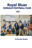 Royal Blues Donald Football Club 2021 book cover